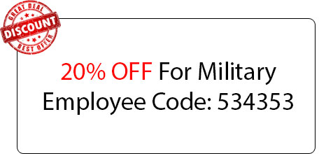 Military Employee Discount - Locksmith at Great Neck, NY - Great Neck NYC Locksmith